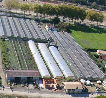 Le parking de la ferme en circuit-court à côté de Toulouse fait peau neuve !